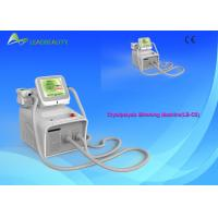 Wholesale 2 Handles Cryolipolysis Slimming Machine With 8 Inch Touch Screen from china suppliers