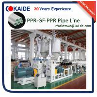 Wholesale SDR7.4/SDR6/SDR11 PPR-Glassfiber-PPR Pipe Making Machine 20mm-110mm from china suppliers