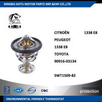 Wholesale Engine Coolant Thermostat 1338E8 90916-03134 SWT 1509-82 for CITROËN / TOYOTA from china suppliers