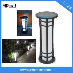 Wholesale H60cm Energy Saving Super Power Ip65 Waterproof Aluminium Housing Garden Decorative Lamp Solar Lawn Light from china suppliers
