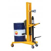 Wholesale Electronic Balance Type 1100mm Lifting Height Manual Drum Stacker With 450Kg Load from china suppliers