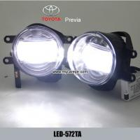 Wholesale TOYOTA Previa car front fog lamp assembly LED daytime running lights from china suppliers