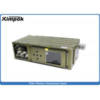 Wholesale Military COFDM Video Transmitter 5W RF Surveillance Wireless Audio Video Transmission System w/ Encryption from china suppliers