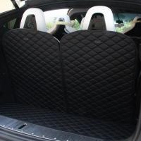 Wholesale Topfit Front and Rear Boot Mat+3rd Row Back Seat Protector Cover for Tesla Model X 6 seat from china suppliers