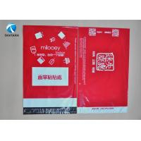 Wholesale Waterproof yellow black red mailing bags polythene for garment shipping from china suppliers