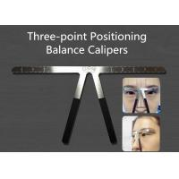 Wholesale Hree - Point Positioning Balance Caliper Eyebrow Balance Ruler Tattoo Tools from china suppliers