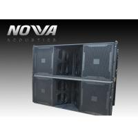 Wholesale 3 Horn 1700 W Pro Audio Speaker For Concert Halls / PA Sound Equipment from china suppliers