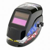 Wholesale Auto-darkening Welding Helmet with 1/25,000s Switching Time from china suppliers