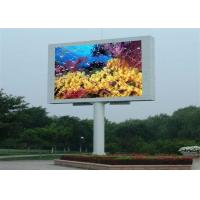 Wholesale P10 High Definition electronic billboards advertising , simple structures from china suppliers