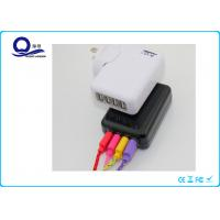 Wholesale Portable Mobile Phone Multi Port USB Charger With US  AU EU UK Plug Cables from china suppliers