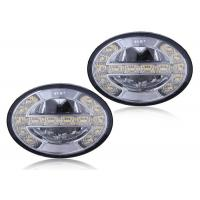 Wholesale 5700k Ford LED Fog Lights Rugged solid state LEDs with DRL Dia 90mm ECE R19 from china suppliers