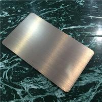 Wholesale Light Weight Brushed Aluminum Composite Panel For Building Decoration 1220mm Width from china suppliers