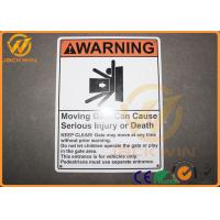 Wholesale Commercial Grade Highway Traffic Signs Aluminum Danger Warning Signs For Safety from china suppliers