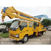 Wholesale hot sale best price CLW brand 12m-24m high altitude operation truck, factory direct sale CLW brand aerial working truck from china suppliers