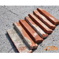 Wholesale Old Red Brick Slices, Brick Veneer, Corner Brick. from china suppliers