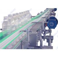 Wholesale High Speed Beverage Bottle Conveyor System With SUS 304 Frame Plastic Belt from china suppliers