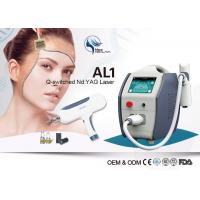 Wholesale 1064nm 532nm Q-Switched Nd Yag Laser Machine For Tattoo Removal / Pigment Removal from china suppliers