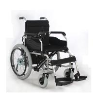 Wholesale 22 Inch Large Wheel Self Braking Outdoor Power Chair , Travel Electric Wheelchair from china suppliers