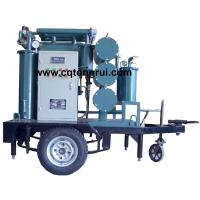 Wholesale Protable ZJL Dielectric Oil Purifier with Trailer,Insulating Oil Filtration machine from china suppliers