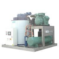 Quality 25T / Day Large Capacity Ice Machine Industrial Water Cooling for sale