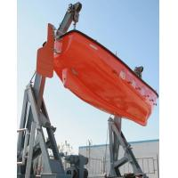 Wholesale Marine Lifeboat Launching Gravity Luffing Arm Hydraulic Type Davit from china suppliers