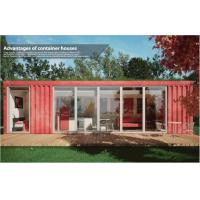 Wholesale Cozy Leisure Collapsible Modular House / 40ft Shipping Container Home for Coffee Shop from china suppliers