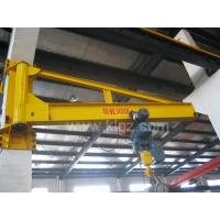 Wholesale KBK Wall Mounted Slewing Jib Crane With Electric Chain Hoist For Workshop from china suppliers
