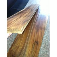Buy cheap small leaf hand scraped solid Acacia wood flooring from wholesalers