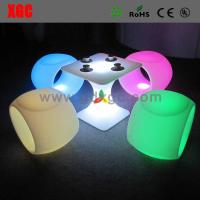 Wholesale New LED stool events furniture GF205 light furniture plastic Led furniture bar Chair High Bar Chair from china suppliers