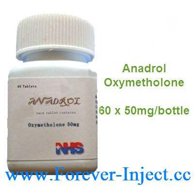 oxymetholone 50 mg half life