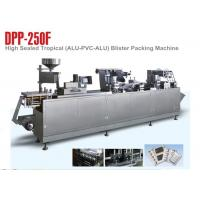 Wholesale High packing standard Aluminum blister packing machine / blister wrapping machine from china suppliers