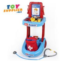Wholesale Plastic Doctor Trolley Play Set from china suppliers