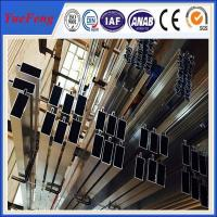 Wholesale ISO 9001 industrial aluminium profile for glass curtain wall price per kg from china suppliers