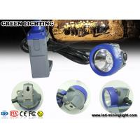 Wholesale IP68 Waterproof 1.67W Led Cap Lamp Underground Mining light With Li Ion Battery from china suppliers