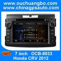 Wholesale Hot selling! car media player for Honda CRV 2012 with car gps navigation OCB-8033 from china suppliers