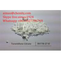 Wholesale SERM Toremifene Citrate Fareston Anti Estrogen Steroids For Anticancer Drugs from china suppliers