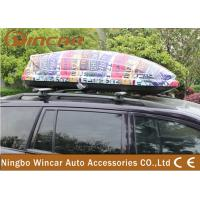 Wholesale Universal SUV / CRV Car Roof Boxes with ABS Plastic Colorful Printing from china suppliers