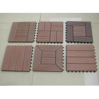 Wholesale Anti - slip Embossing WPC DIY Deck Tiles 30 x 30cm For Swimming Pool from china suppliers