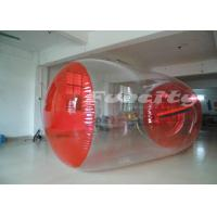 Wholesale PVC Inflatable Walk On Water Ball Roller With 0.8mm - 1.0mm Thickness from china suppliers