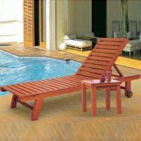 Wholesale Wooden Beach Lounge Chair, Suitable for Garden Use from china suppliers