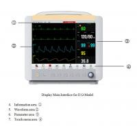 Wholesale Wire/wireless central monitoring system multi-parameter plug-in patient monitor price E15 from china suppliers