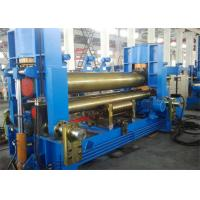 Wholesale Hydraulic Plate Rolling Machine With 740 Mm Upper Roller Pre - Bending Function from china suppliers