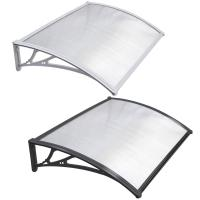 Wholesale DIY Clear SOLID 3mm Polycarbonate PC Awning for door window house canopy UV protected from china suppliers