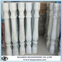 Wholesale Gate pillar design, roman pillar,  white Stair railing from china suppliers