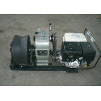 Wholesale Cable Winch Puller 5 Ton Gas Engine Powered Winch with Honda GX390 13HP from china suppliers