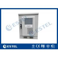 Wholesale Small Size Outdoor Telecom Cabinet / Customized Sheet Metal Box With Heat Exchanger from china suppliers