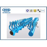 Wholesale Steel Thermal Oil Boiler Header Manifolds / High Pressure Steam Header Parts from china suppliers