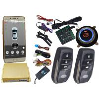Wholesale Reatime Online Smartphone Car Alarm System , Cell Phone Remote Start Gps Vehicle Tracking Systems from china suppliers