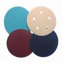 Wholesale Velcro Discs, Made of Aluminum Oxide/Silicone Carbide/Zirconia/WA from china suppliers