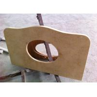 """Wholesale Sunny Beige Marble Vanity Tops 22"""" Wide With Basin Hole , SGS CE Listed from china suppliers"""